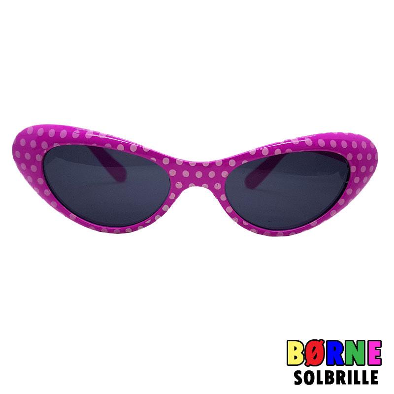 fc95eefa92c9 49.00 DKK 29.00 DKK. Pink 50er solbriller med prikker til børn. UV400  Beskyttelse
