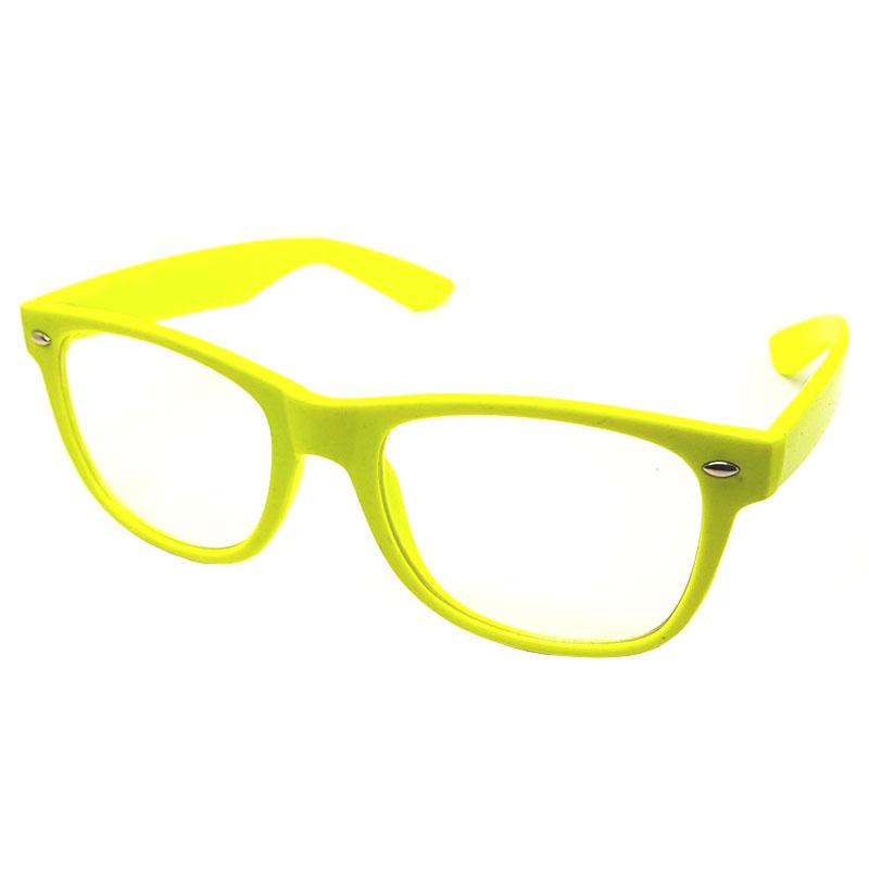 f46f374e2963 ... Wayfarer briller uden styrke. Neon gul. Vis alle. 49.00 DKK 29.00 DKK